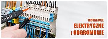 Instalacje elektryczne i odgromowe